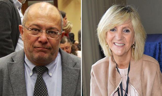 Los médicos Francisco Igea y Verónica Casado toman posesión de sus nuevos cargos