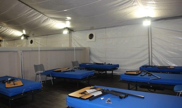 Fuenlabrada conservará su hospital de campaña Covid-19 para aliviar presión