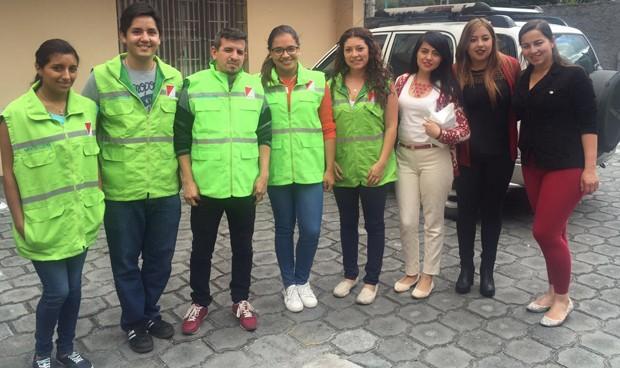 Fundación Uniteco atiende 'in situ' el terremoto de Ecuador