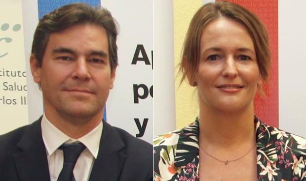 Gabriel Galván y Marta Moreno