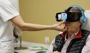 Gafas 3D y realidad virtual en las sesiones de quimioterapia de la Ruber