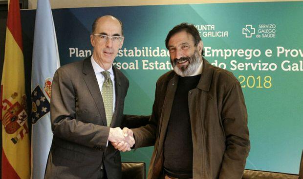 Galicia acuerda mejorar la inclusión de los discapacitados en el Sergas