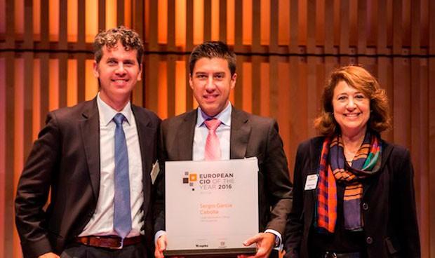García, elegido CIO Europeo 2016 en la categoría de mediana empresa