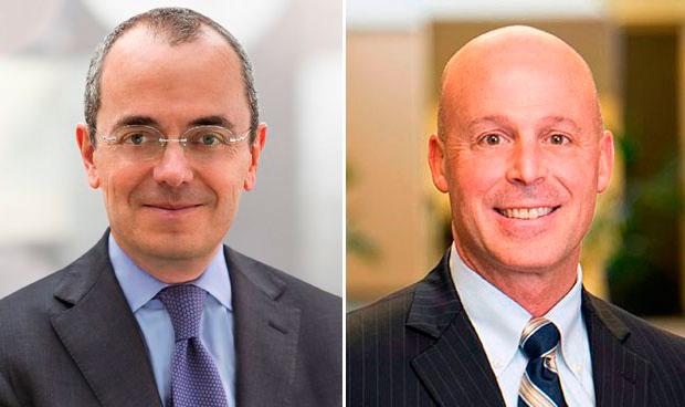 Giovanni Caforio y Mark Alles