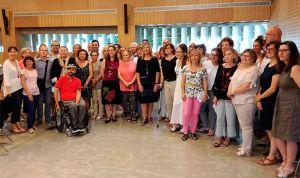 Gómez se reúne con los pacientes para abordar la estrategia de cronicidad