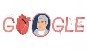 Google homenajea al inventor del bypass, que se suicidó harto de corrupción