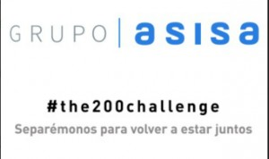 Grupo Asisa se une a #the200challenge de fomento del distanciamiento social