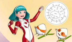 GSK crea una superheroína para explicar a los niños el valor de las vacunas