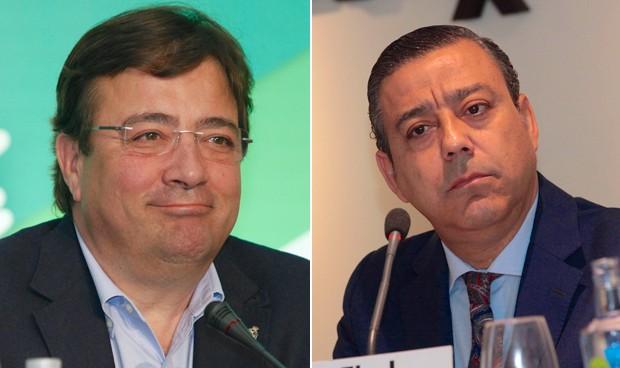 Guillermo Fernández Vara y Óscar Castro