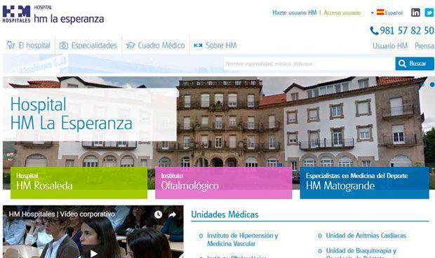 HM Hospitales lanza las nuevas webs de sus centros gallegos