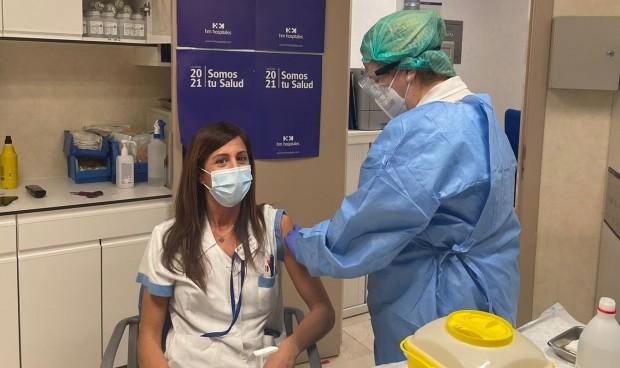 HM Hospitales Madrid comienza a vacunar frente al Covid a sus sanitarios