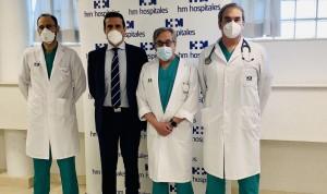 HM, primer centro privado de Madrid en realizar lobectomías uniportales