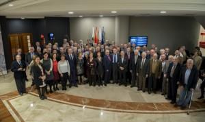 Homenaje colegial a los médicos jubilados en Cantabria