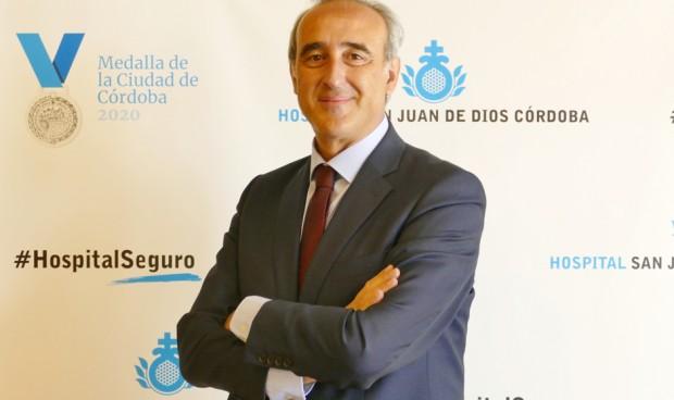 Horacio Pijuán, gerente del Hospital San Juan de Dios de Córdoba