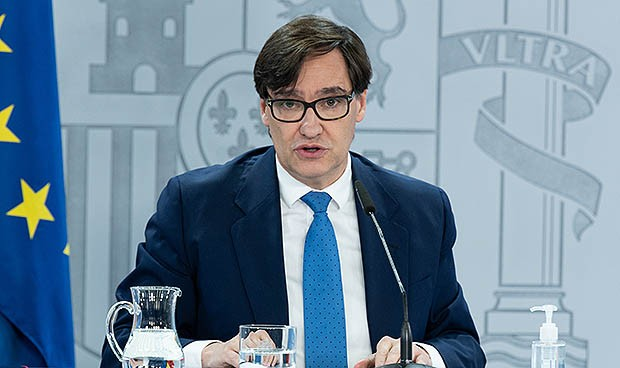 El ministro Illa revela por qué no va a la inauguración del Zendal