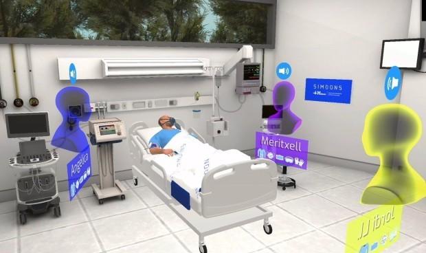 El Hospital Vall d'Hebron lanza un simulador virtual para formar a médicos