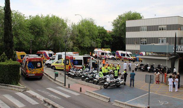 Hospitales y el Summa participan en un simulacro de grandes catástrofes
