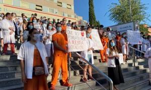 Huelga MIR Madrid: Sanidad cifra el seguimiento en el 43,88%
