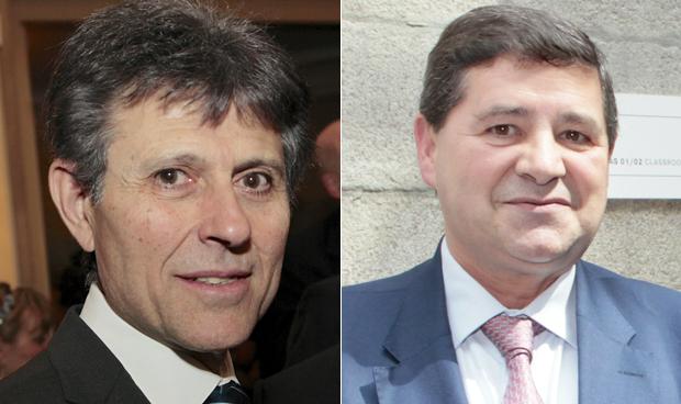 Humberto Arnés y Joaquín Estévez