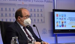 """Iceta rechaza convertir en funcionario """"por ley"""" al personal interino"""