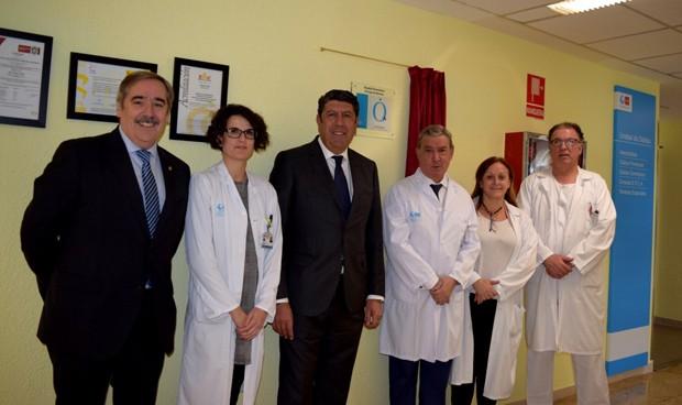 IDIS acude al descubrimiento de la placa QH en el Príncipe de Asturias