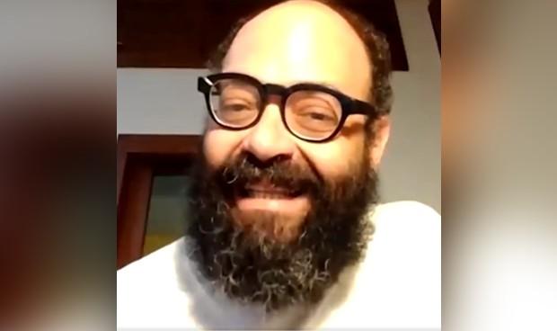 Ignatius hace gala de su humor al comunicar su positivo en coronavirus