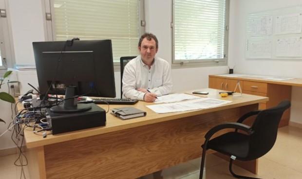 Igor Astarbe, jefe de Servicio de Administración y Gestión en Donostialdea