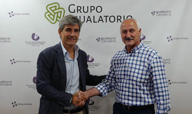 Igualatorio Cantabria renueva su apoyo al Racing y la Fundación verdiblanca