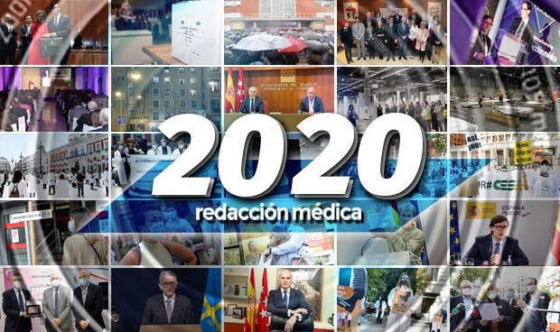 Imágenes destacadas de 2020, el año que la sanidad se enfrentó al Covid