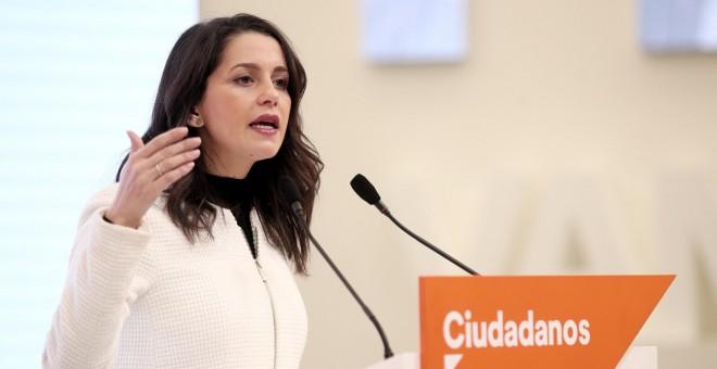 Inés Arrimadas analiza la gestión y la situación del coronavirus