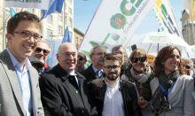 Íñigo Errejón, 'portavoz sanitario de Podemos' ante los médicos
