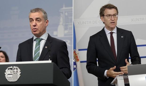 PNV y PP ganan las elecciones vascas y gallegas