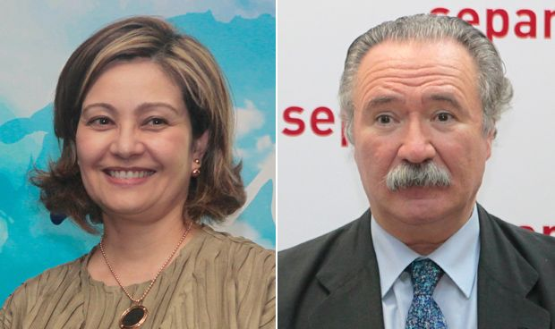 Inmaculada Ramos y Carlos Jiménez-Ruiz