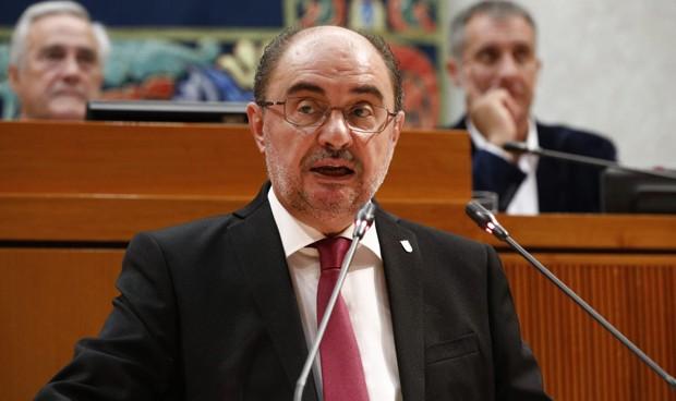 """Investidura de Lambán: """"Voy a trabajar para reducir las listas de espera"""""""