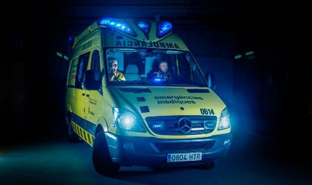 Investigan a un hombre que robó una ambulancia haciéndose pasar por médico