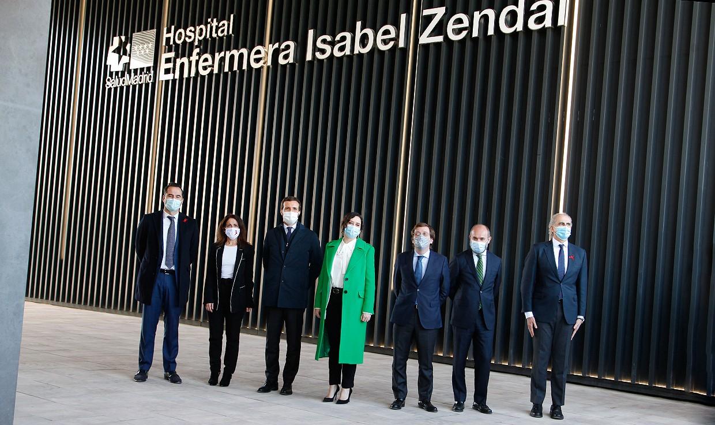 """El Isabel Zendal, inaugurado: """"Un hospital para España, abierto a las CCAA"""""""