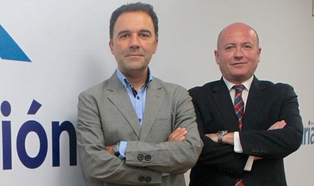 Ismael Sánchez y Miguel Ángel Moyano
