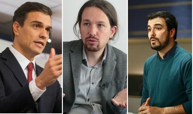 IU pide a Podemos hacer a Sánchez presidente y blindar la sanidad pública