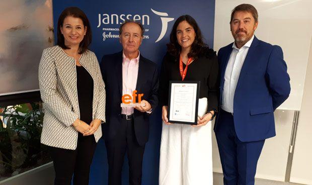 Janssen, reconocida por sus políticas de igualdad y conciliación familiar