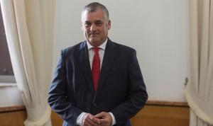 Javier Carnero, portavoz del PSOE en la Comisión de Salud de Andalucía