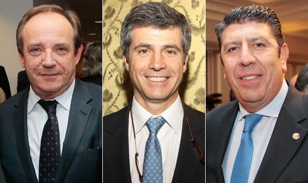 Javier Castrodeza, Adolfo Fernández-Valmayor y Manuel Vilches