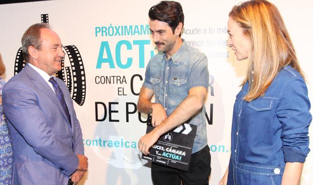 Javier Castrodeza se atreve a competir con dos estrellas del cine