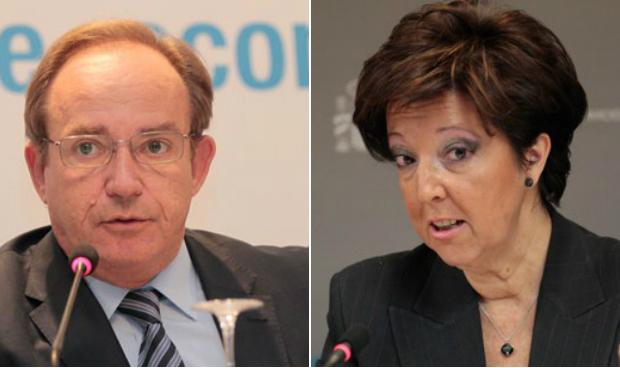 Javier Castrodeza y Elena Andradas