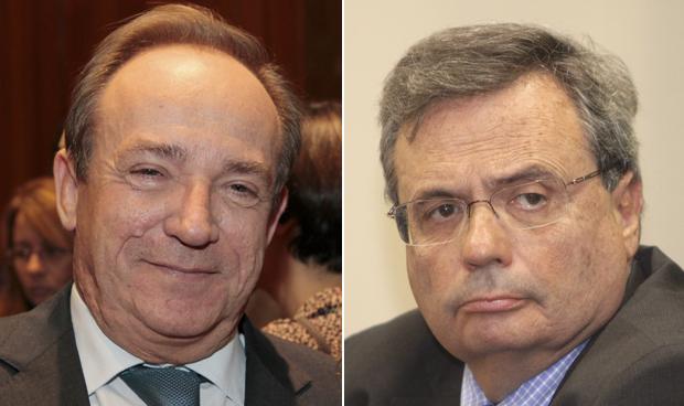 Javier Castrodeza y Rafael Matesanz