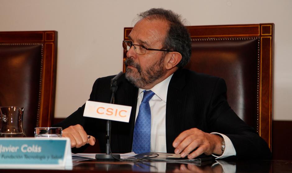 Javier Colás, el convidado de piedra en la fiesta de Montserrat