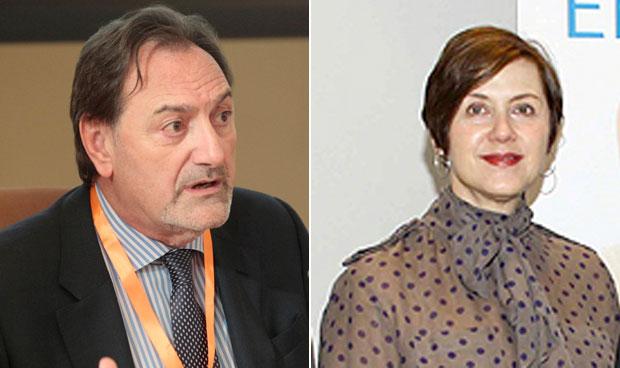 Javier Ellena y Teresa Millán