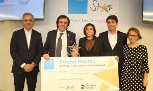 Javier Herreras, ganador del Premio Sanitas Dental Star