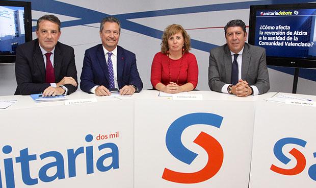 Javier Palau, Ricardo Campos, Mónica Alloza y Manuel Vilches