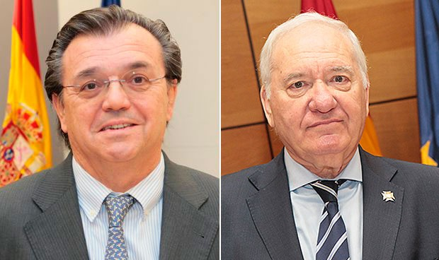 Jesús Acebillo y Florentino Pérez Raya