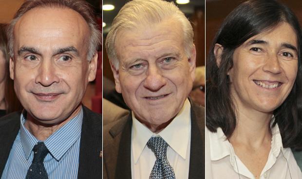 Jesús Fernández Crespo, Valentín Fuster y María Blasco